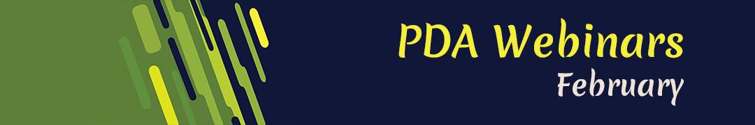 PDA events February 2021