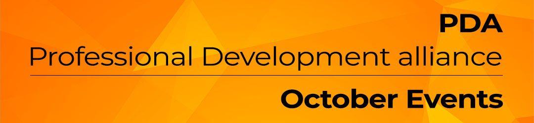 PDA events October 2021